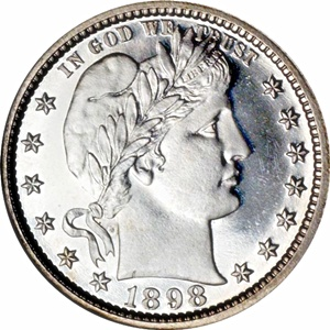 Liberty Head Barber Dime - Obverse
