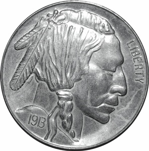 Indian Head Buffalo Nickel - Obverse