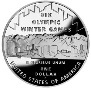 2002 Olympic Winter Games Silver Coin - Reverse