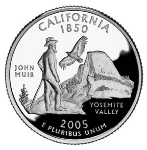 2005 California Quarter - Reverse