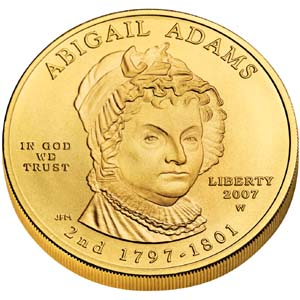 2007 First Spouse Abigail Adams - Obverse