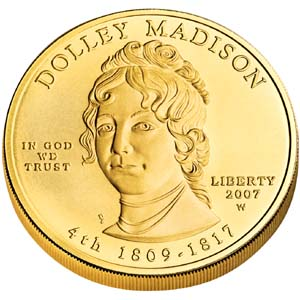 2007 First Spouse Dolley Madison - Obverse