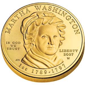 2007 First Spouse Martha Washington - Obverse