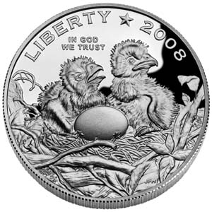 2008 Bald Eagle Half Dollar - Obverse