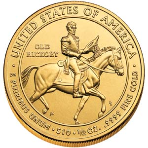 2008 First Spouse Andrew Jackson - Reverse