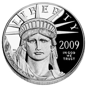 2008 American Platinum Eagle Proof - Obverse