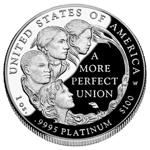 2008 American Platinum Eagle Proof - Reverse