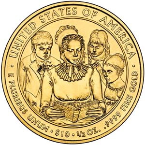 2009 First Spouse Anna Harrison - Reverse