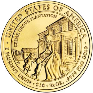2009 First Spouse Letitia Tyler - Reverse