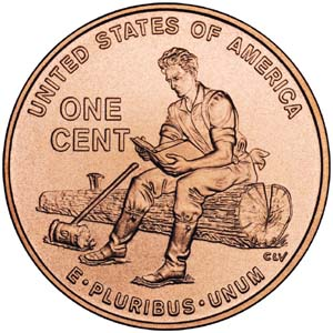 2009 Lincoln Bicentennial One Cent - Reverse 2