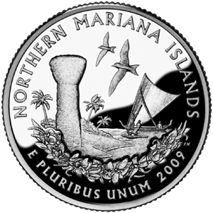 2009 Northern Mariana Islands - Reverse