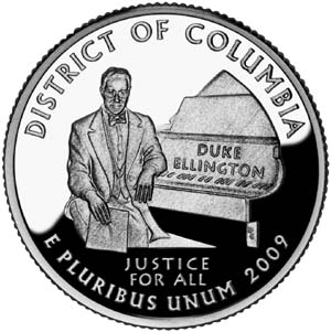 2009 District of Columbia Quarter - Reverse
