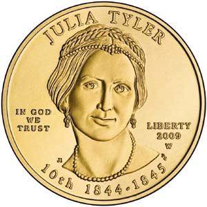 2009 First Spouse Julia Tyler - Obverse