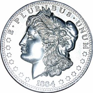 Morgan Dollar - Obverse